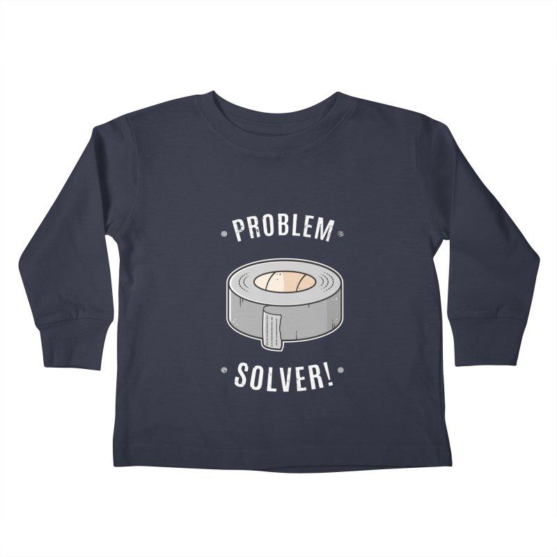 Duct Tape - Problem Solver Kids Toddler Longsleeve T-Shirt by zoljo's Artist Shop