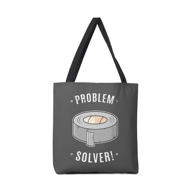 Duct Tape - Problem Solver Accessories Bag by zoljo's Artist Shop