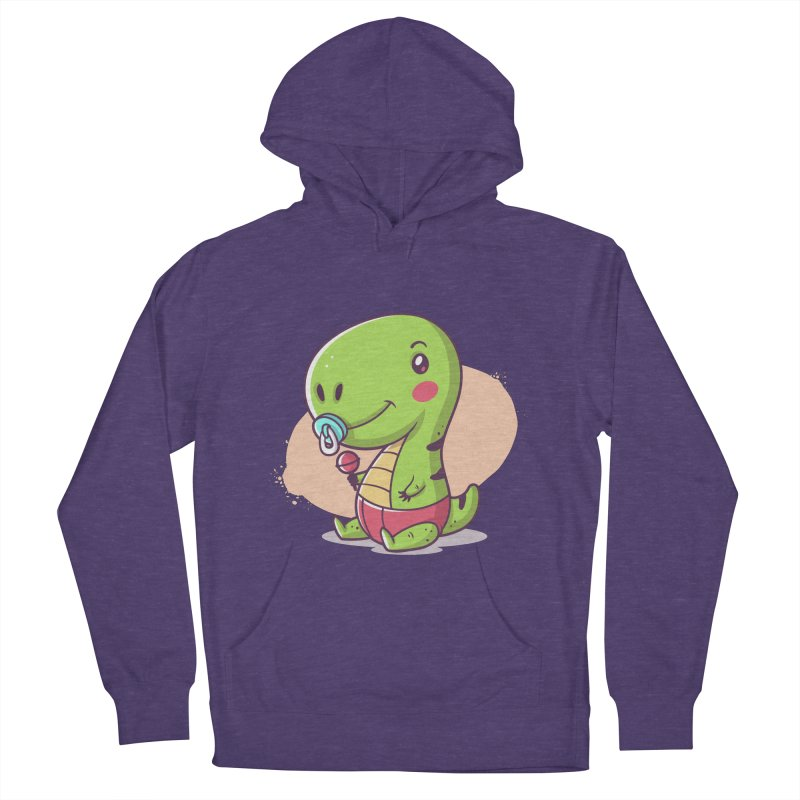 Baby T-Rex Men's Pullover Hoody by zoljo's Artist Shop