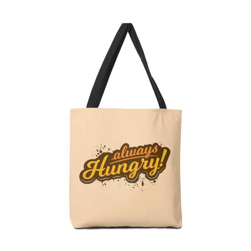Always hungry Accessories Bag by zoljo's Artist Shop
