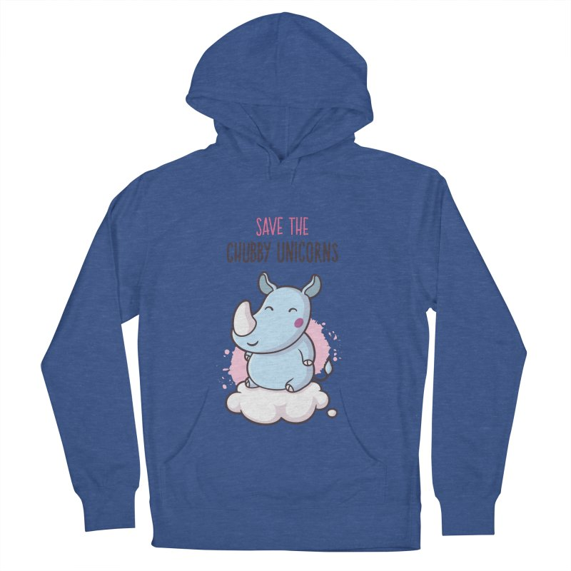 Save The Chubby Unicorns Men's Pullover Hoody by zoljo's Artist Shop