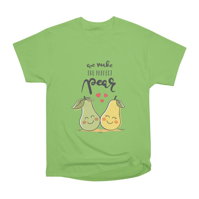 We Make The Perfect Pear Men's Heavyweight T-Shirt by zoljo's Artist Shop