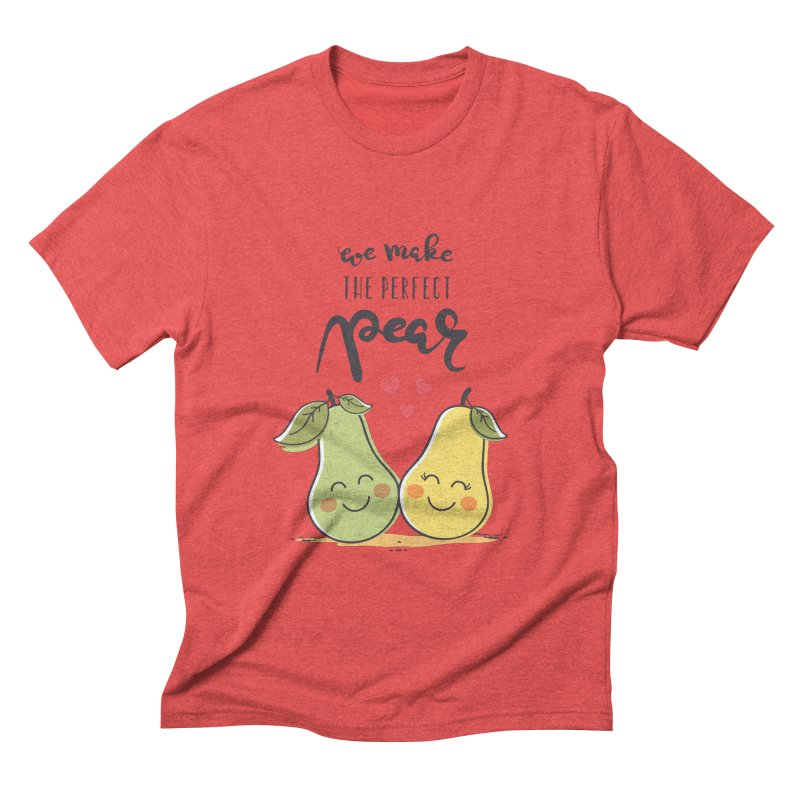 We Make The Perfect Pear Men's Triblend T-Shirt by zoljo's Artist Shop