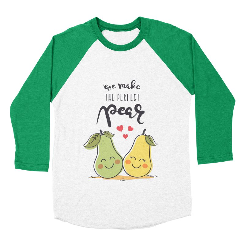 We Make The Perfect Pear Men's Baseball Triblend T-Shirt by zoljo's Artist Shop