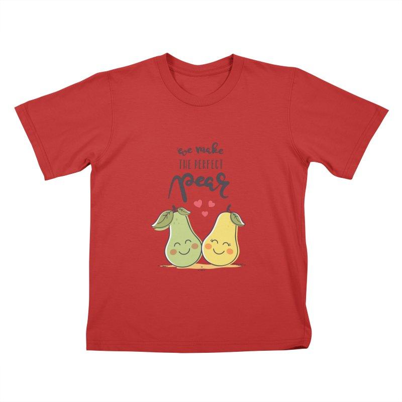 We Make The Perfect Pear Kids T-Shirt by zoljo's Artist Shop