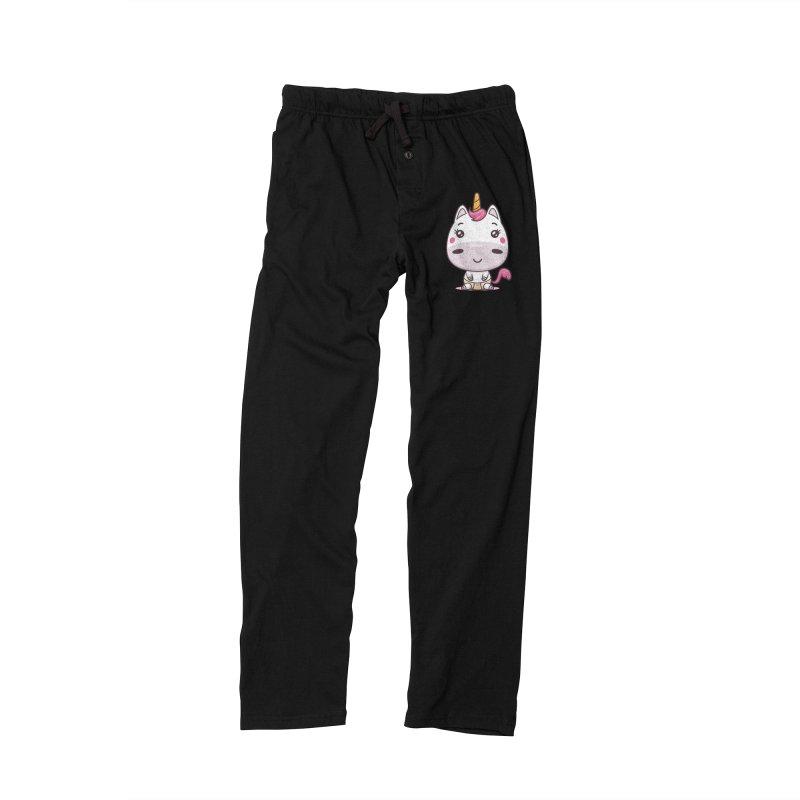 Baby Unicorn Men's Lounge Pants by zoljo's Artist Shop