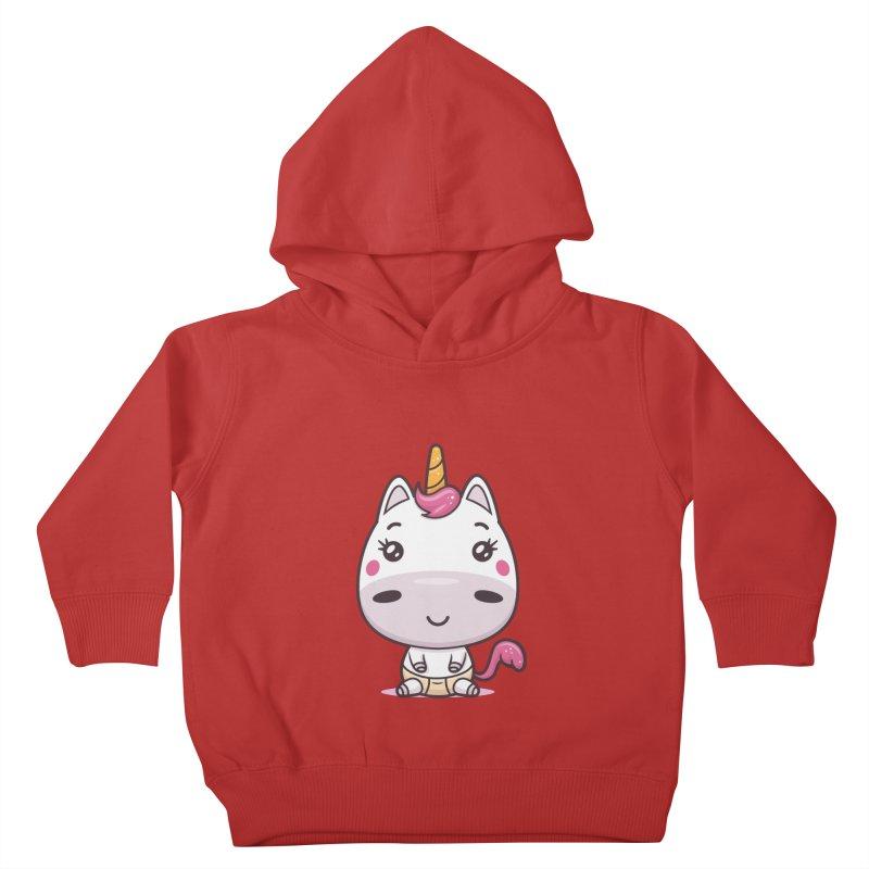 Baby Unicorn Kids Toddler Pullover Hoody by zoljo's Artist Shop
