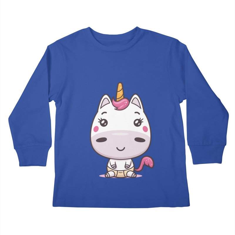 Baby Unicorn Kids Longsleeve T-Shirt by zoljo's Artist Shop