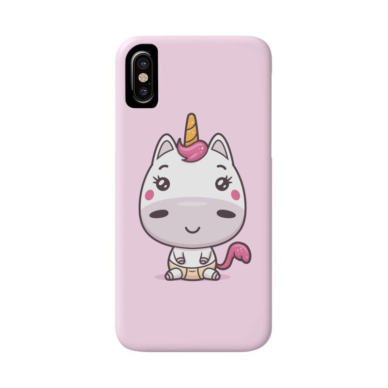 Baby Unicorn Accessories Phone Case by zoljo's Artist Shop