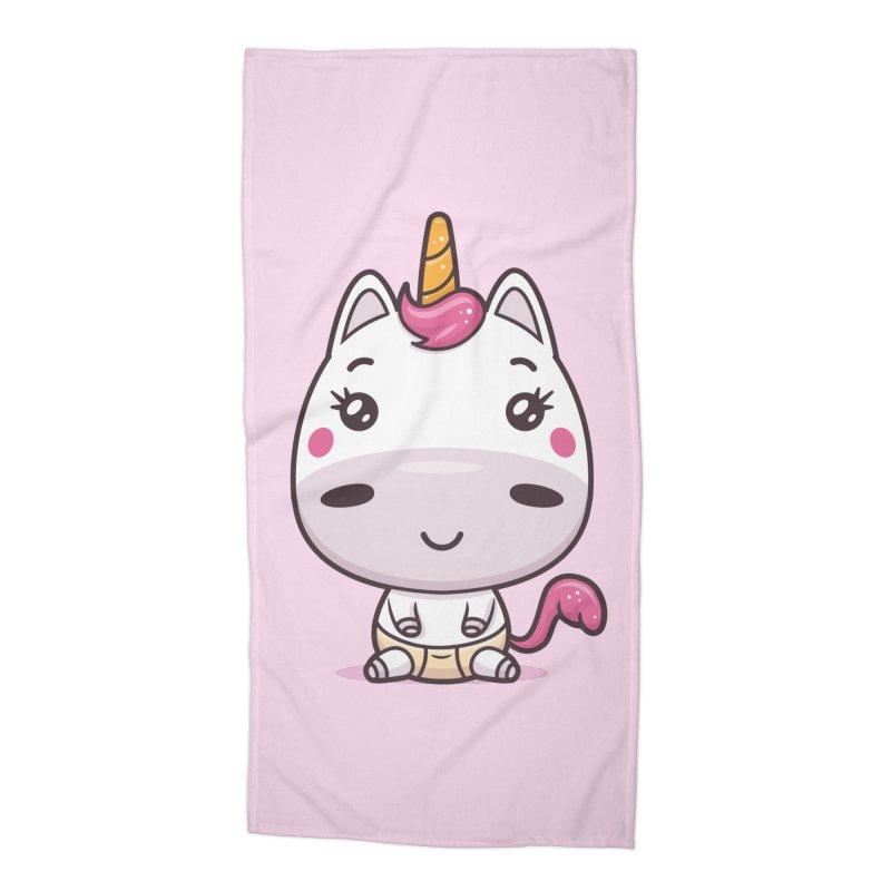 Baby Unicorn Accessories Beach Towel by zoljo's Artist Shop