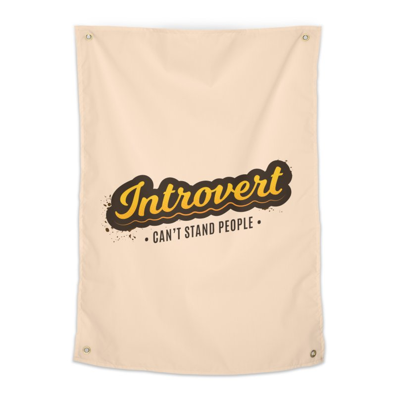 Introvert Home Tapestry by zoljo's Artist Shop