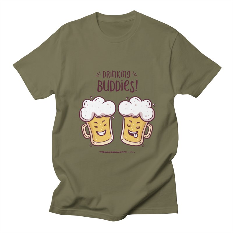 Drinking Buddies Women's Regular Unisex T-Shirt by zoljo's Artist Shop