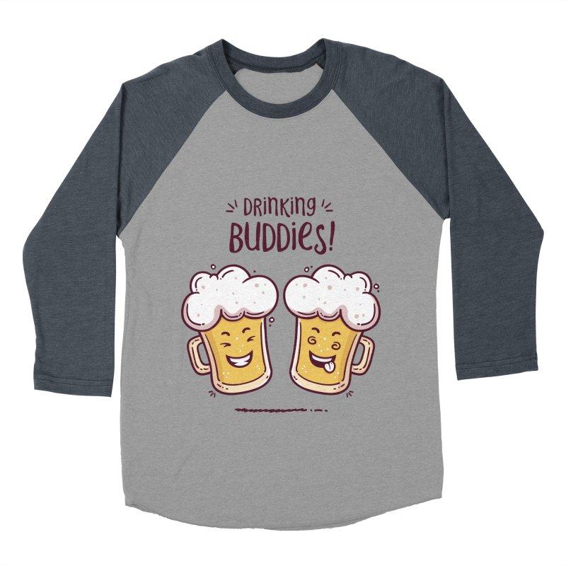Drinking Buddies Women's Baseball Triblend Longsleeve T-Shirt by zoljo's Artist Shop