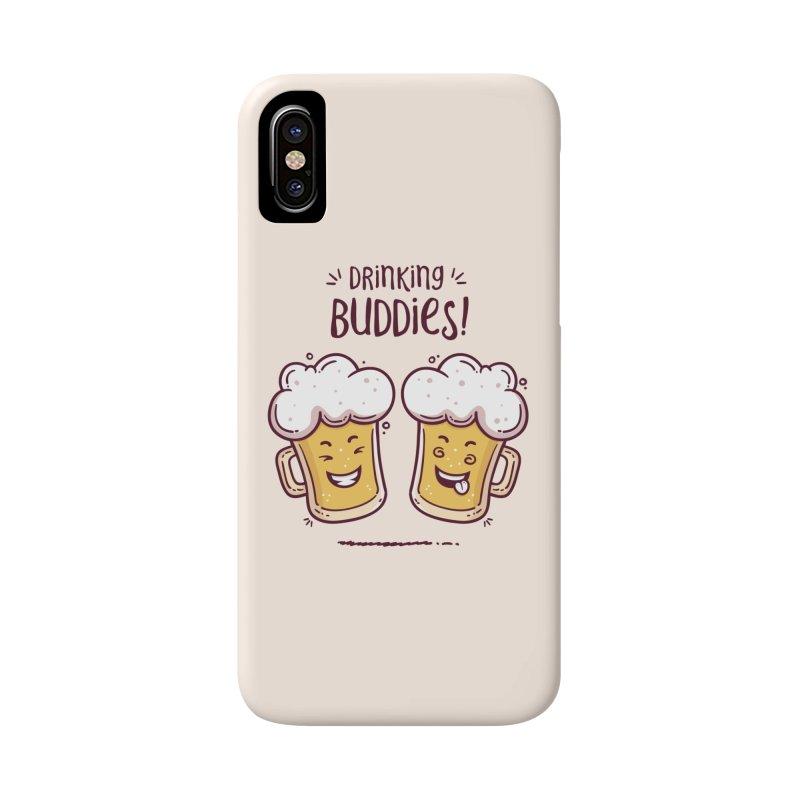 Drinking Buddies Accessories Phone Case by zoljo's Artist Shop
