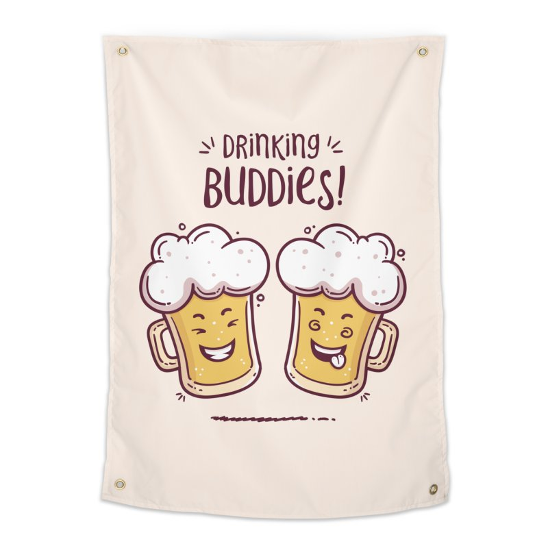 Drinking Buddies Home Tapestry by zoljo's Artist Shop