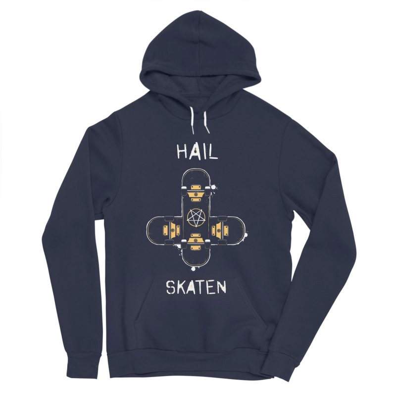 Hail Skaten Women's Sponge Fleece Pullover Hoody by zoljo's Artist Shop