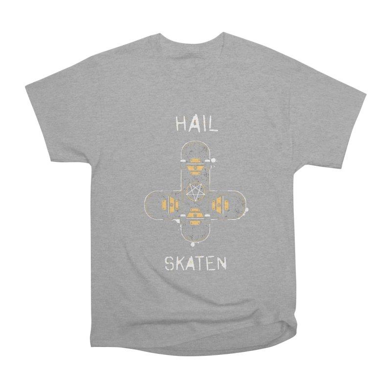 Hail Skaten Women's Heavyweight Unisex T-Shirt by zoljo's Artist Shop