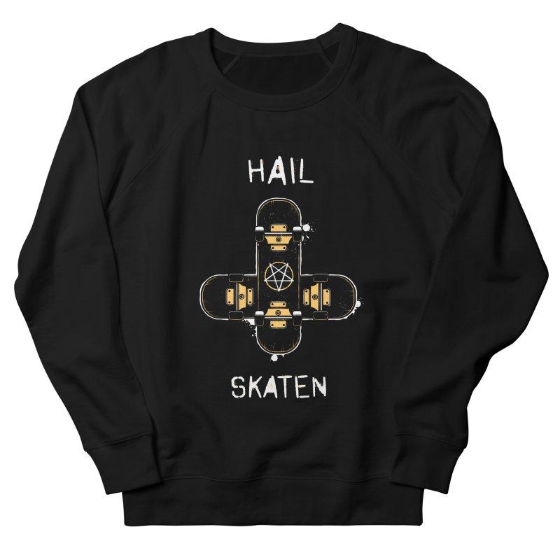 Hail Skaten Men's French Terry Sweatshirt by zoljo's Artist Shop