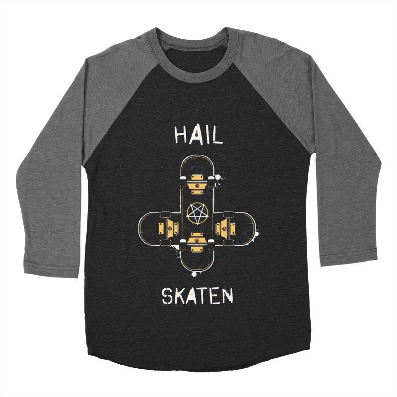 Hail Skaten Women's Baseball Triblend Longsleeve T-Shirt by zoljo's Artist Shop