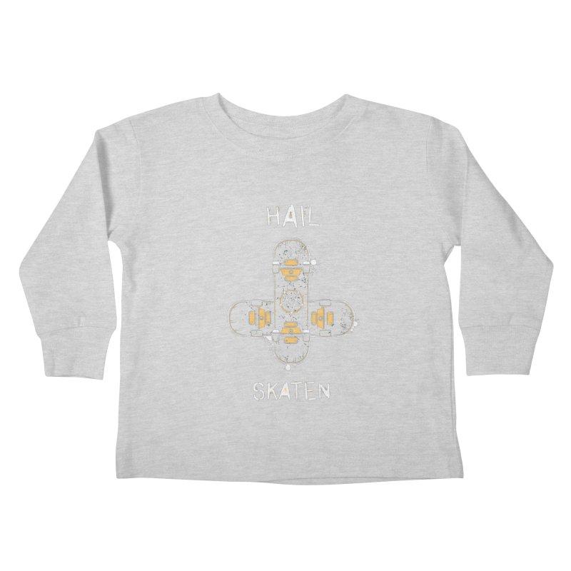Hail Skaten Kids Toddler Longsleeve T-Shirt by zoljo's Artist Shop