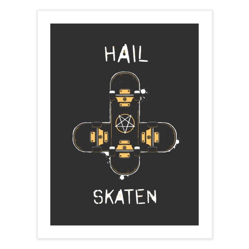 Hail Skaten Home Fine Art Print by zoljo's Artist Shop
