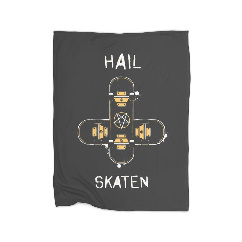 Hail Skaten Home Blanket by zoljo's Artist Shop