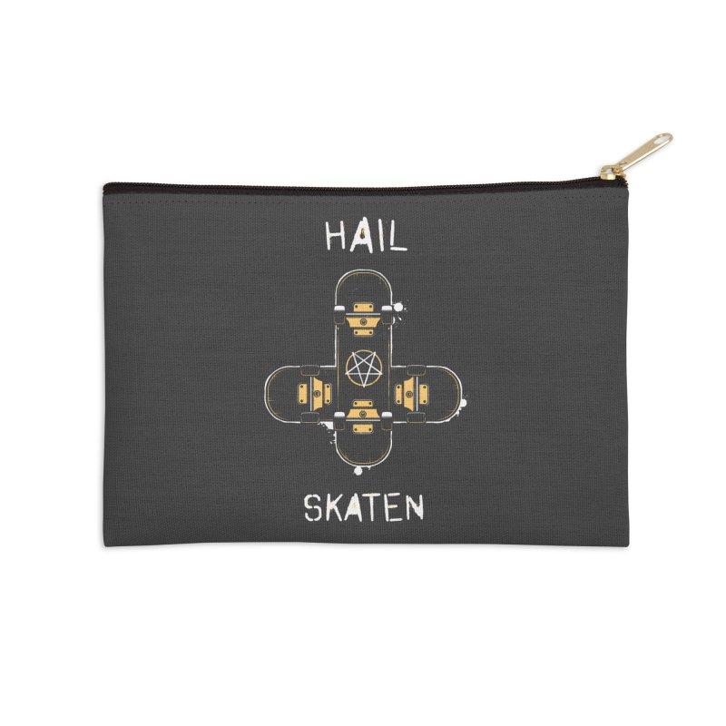 Hail Skaten Accessories Zip Pouch by zoljo's Artist Shop