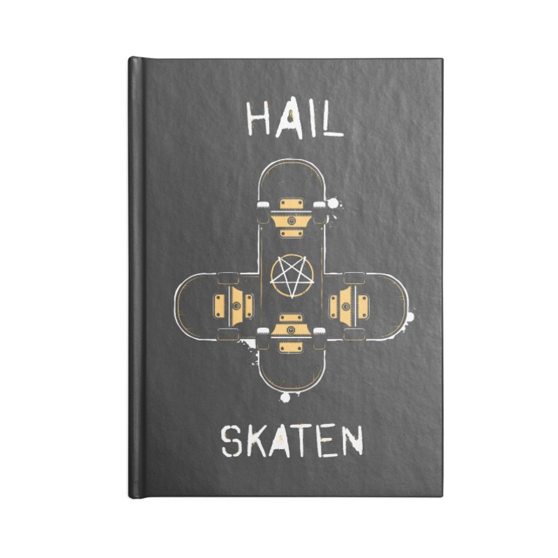 Hail Skaten Accessories Blank Journal Notebook by zoljo's Artist Shop