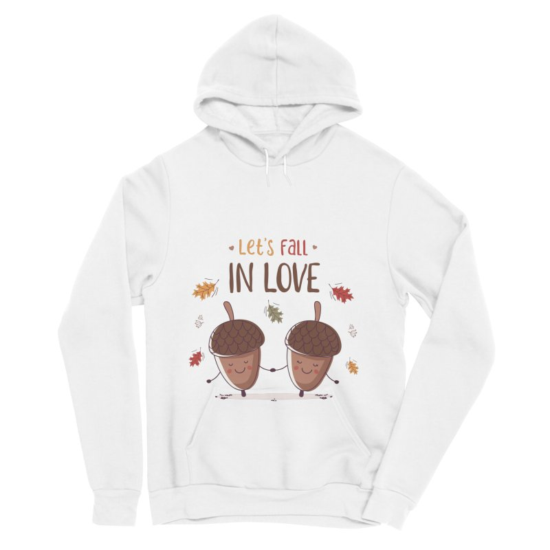 Let's Fall In Love Women's Sponge Fleece Pullover Hoody by zoljo's Artist Shop