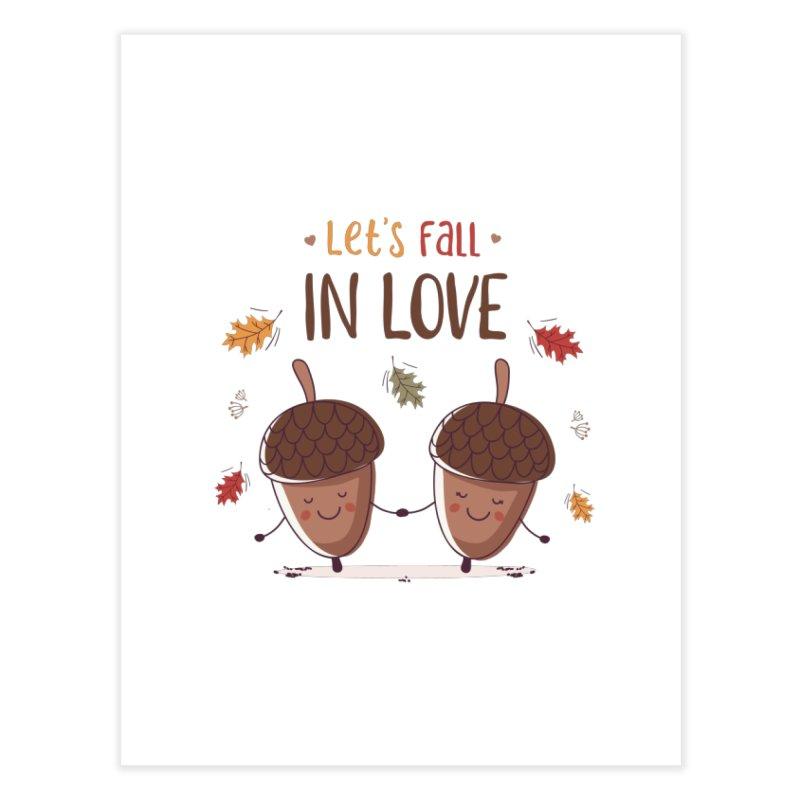 Let's Fall In Love Home Fine Art Print by zoljo's Artist Shop