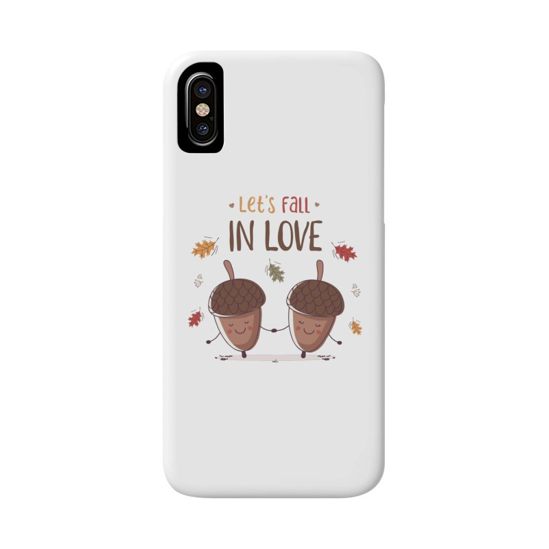 Let's Fall In Love Accessories Phone Case by zoljo's Artist Shop