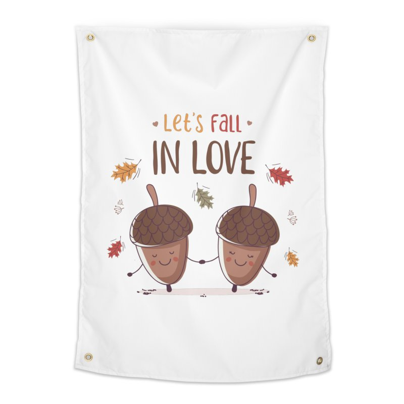 Let's Fall In Love Home Tapestry by zoljo's Artist Shop