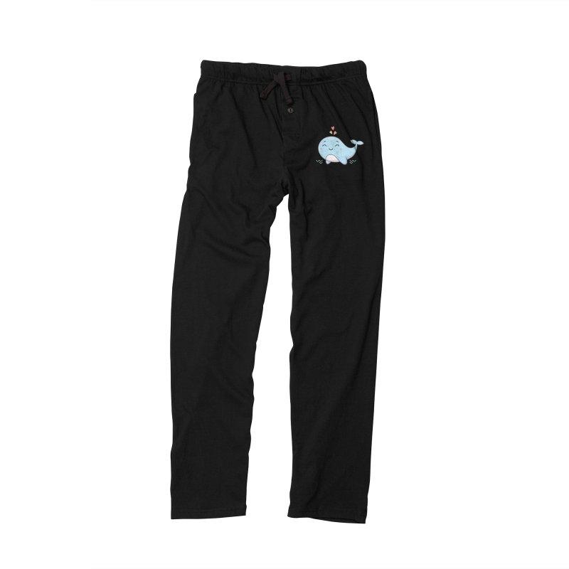 Cute Whale Men's Lounge Pants by zoljo's Artist Shop
