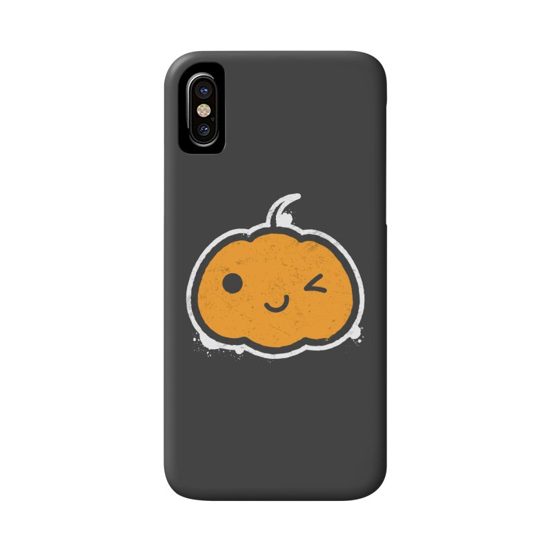 Cool Pumpkin Accessories Phone Case by zoljo's Artist Shop