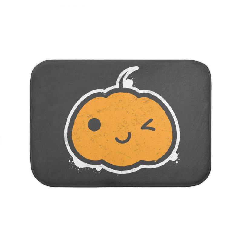 Cool Pumpkin Home Bath Mat by zoljo's Artist Shop
