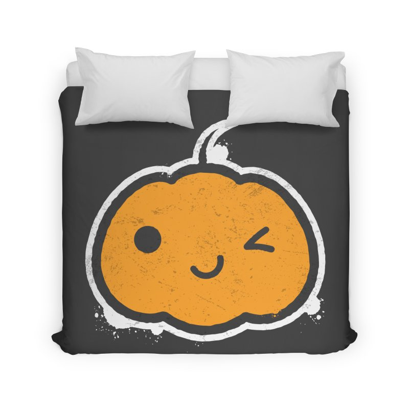 Cool Pumpkin Home Duvet by zoljo's Artist Shop