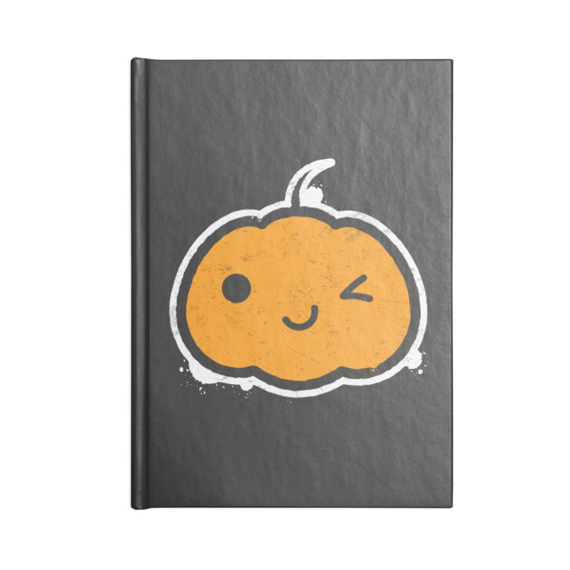 Cool Pumpkin Accessories Blank Journal Notebook by zoljo's Artist Shop