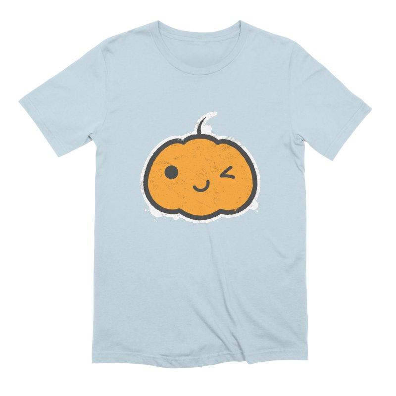 Cool Pumpkin Men's Extra Soft T-Shirt by zoljo's Artist Shop