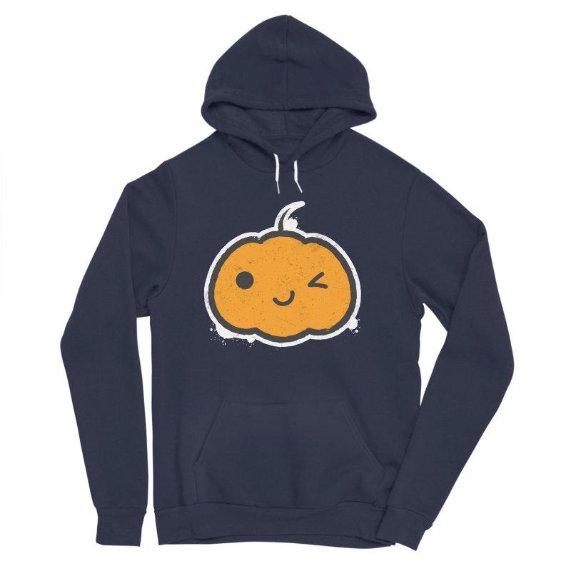 Cool Pumpkin Men's Sponge Fleece Pullover Hoody by zoljo's Artist Shop