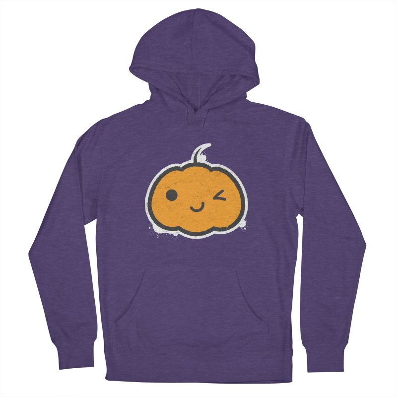 Cool Pumpkin Women's French Terry Pullover Hoody by zoljo's Artist Shop