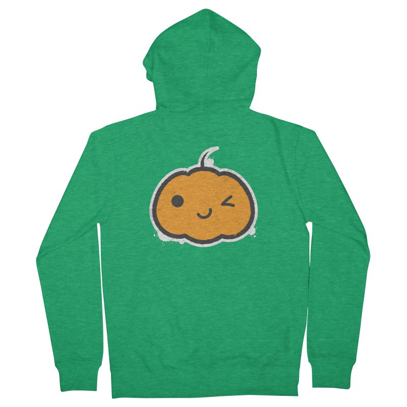 Cool Pumpkin Men's Zip-Up Hoody by zoljo's Artist Shop