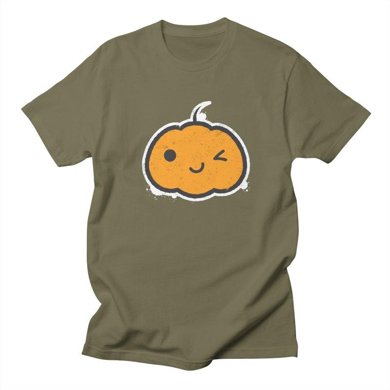 Cool Pumpkin Women's Regular Unisex T-Shirt by zoljo's Artist Shop