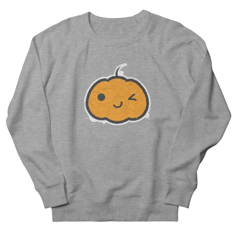 Cool Pumpkin Men's French Terry Sweatshirt by zoljo's Artist Shop