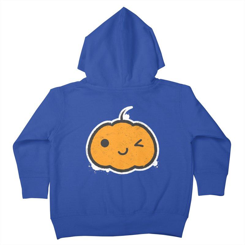 Cool Pumpkin Kids Toddler Zip-Up Hoody by zoljo's Artist Shop