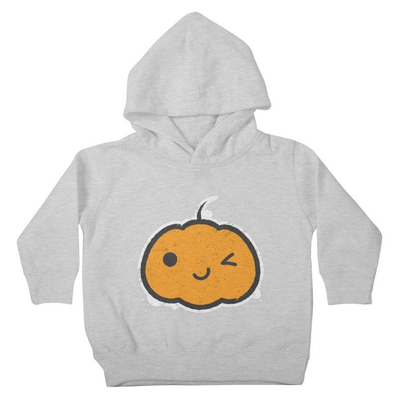 Cool Pumpkin Kids Toddler Pullover Hoody by zoljo's Artist Shop