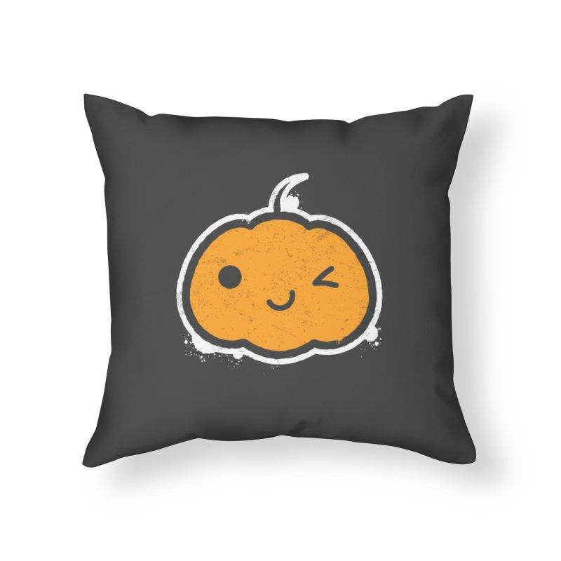 Cool Pumpkin Home Throw Pillow by zoljo's Artist Shop