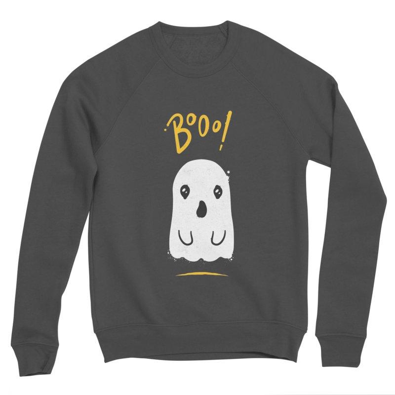 Cute Haloween Ghost Men's Sponge Fleece Sweatshirt by zoljo's Artist Shop