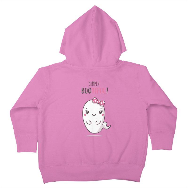 Simply Bootiful - Halloween Ghost Kids Toddler Zip-Up Hoody by zoljo's Artist Shop