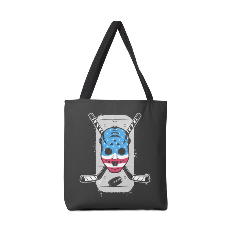 American Ice Hockey - USA Accessories Bag by zoljo's Artist Shop