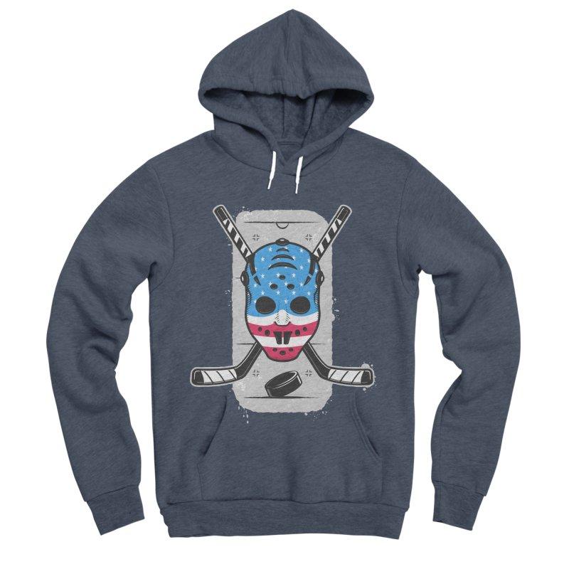 American Ice Hockey - USA Women's Sponge Fleece Pullover Hoody by zoljo's Artist Shop